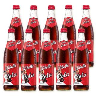 Libella Cola Limonade 10 Flaschen je 0,5l