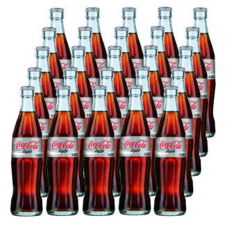 Coca Cola Light 25 Flaschen je 0,33l