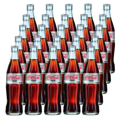 Coca Cola Light 25 Flaschen je 0,33l