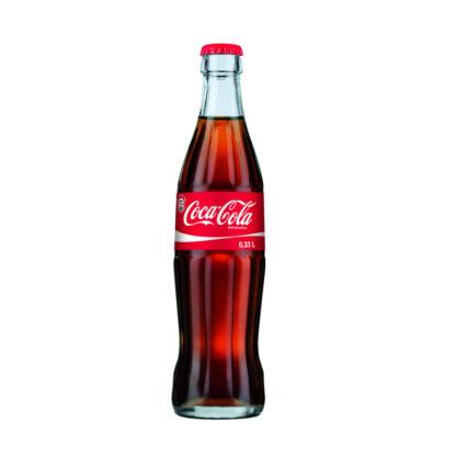 Coca Cola das Original 0,33l Flasche