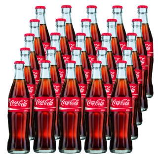 Coca Cola das Original 25 Flaschen je 0,33l