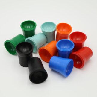 Ballaufheber Sauger für Minigolfbälle 12 Stück in verschiedenen Farben