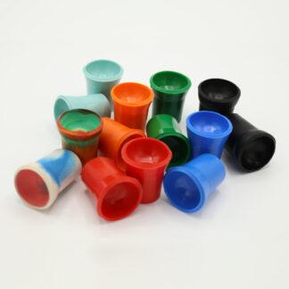 Ballaufheber Sauger für Minigolfbälle 14 Stück in verschiedenen Farben