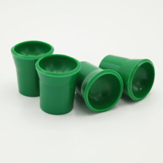 Ballaufheber Sauger für Minigolfbälle 4 Stück, grün
