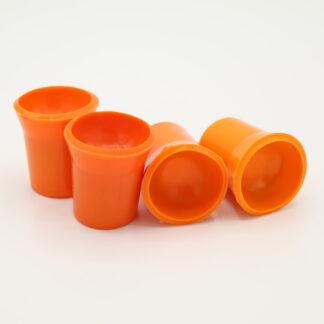 Ballaufheber Sauger für Minigolfbälle 4 Stück, orange