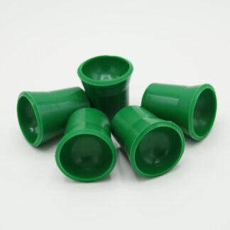 Ballaufheber Sauger für Minigolfbälle 5 Stück, grün