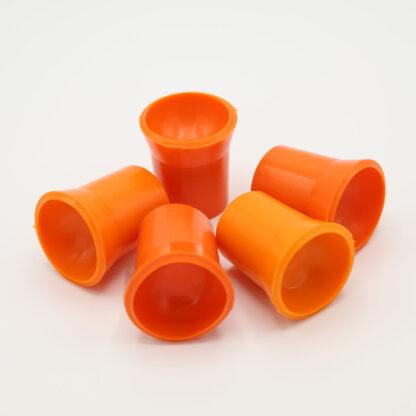 Ballaufheber Sauger für Minigolfbälle 5 Stück, orange
