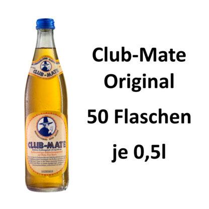 Club-mate das Original 50 Flaschen je 0,5l