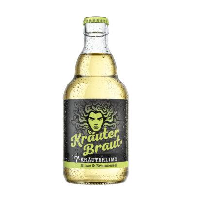 Kräuterbraut Minze & Brennnessel 0,5l Flasche