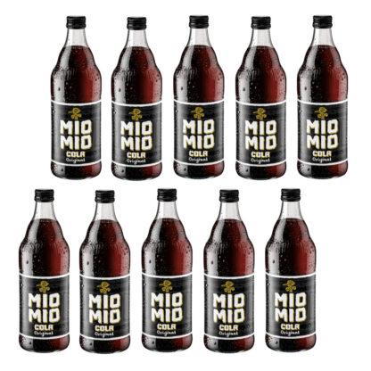 Mio Mio Cola Original 10 Flaschen je 0,5l