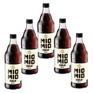 Mio Mio Cola Zero 5 Flaschen je 0,5l