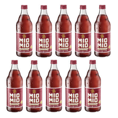 Mio Mio Guarana Pomegranate 10 Flaschen je 0,5l
