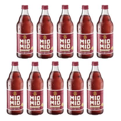 Mio Mio Guarana Pomegranate 10 Flaschen je 0,5l
