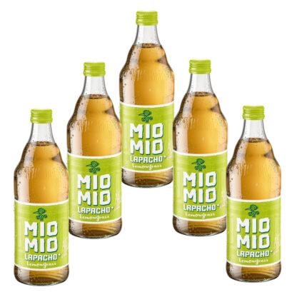 Mio Mio Lapacho Lemongrass 5 Flaschen je 0,5l