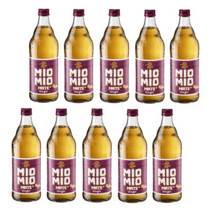 Mio Mio Mate Ginger 10 Flaschen je 0,5l