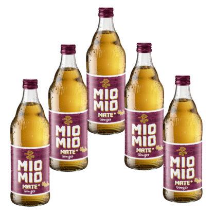 Mio Mio Mate Ginger 5 Flaschen je 0,5l