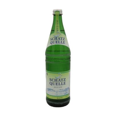 Schatzquelle medium Mineralwasser 0,75l Flasche