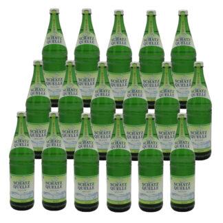 Schatzquelle medium Mineralwasser 17 Flaschen je 0,75l