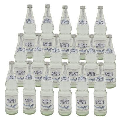 Schatzquelle naturell Mineralwasser 17 Flaschen je 0,7l