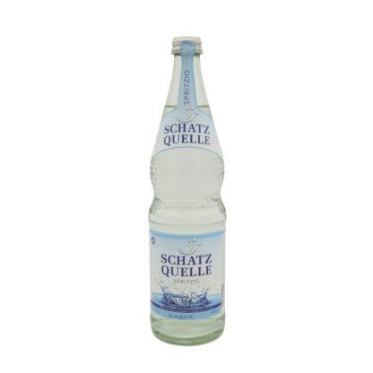 Schatzquelle spritzig Mineralwasser 0,7l Flasche