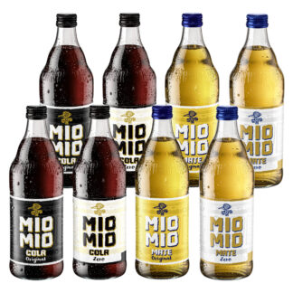 Mio Mio Limo Probierpaket Classic 8 Flaschen je 0,5l