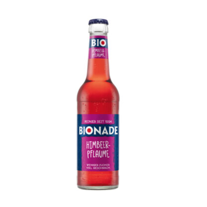 Bionade Himbeer-Pflaume 0,33l Flasche