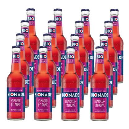 Bionade Himbeer-Pflaume 16 Flaschen je 0,33l
