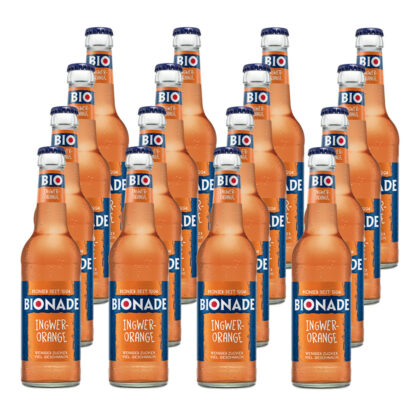 Bionade Ingwer-Orange 16 Flaschen je 0,33l