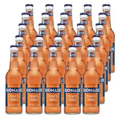 Bionade Ingwer-Orange 25 Flaschen je 0,33l