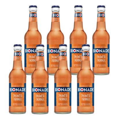 Bionade Ingwer-Orange 8 Flaschen je 0,33l