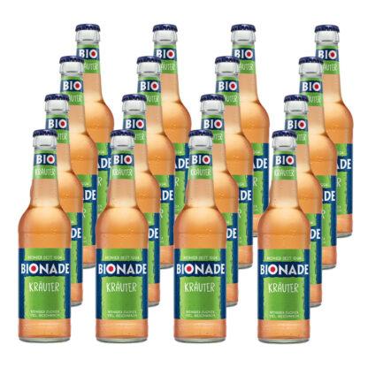 Bionade Kräuter 16 Flaschen je 0,33l