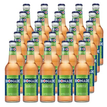 Bionade Kräuter 25 Flaschen je 0,33l