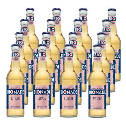 Bionade Litschi 16 Flaschen je 0,33l