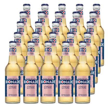 Bionade Litschi 25 Flaschen je 0,33l