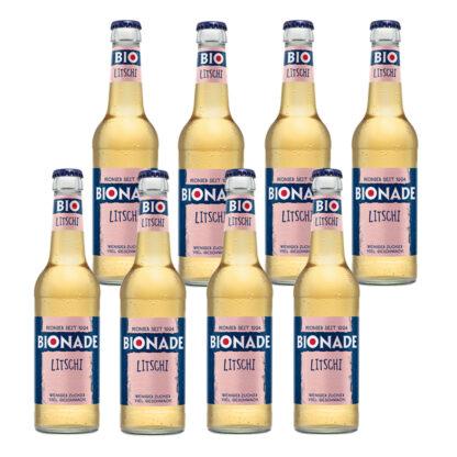 Bionade Litschi 8 Flaschen je 0,33l