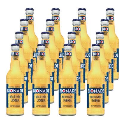 Bionade Naturtrübe-Orange 16 Flaschen je 0,33l