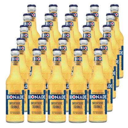 Bionade Naturtrübe-Orange 25 Flaschen je 0,33l
