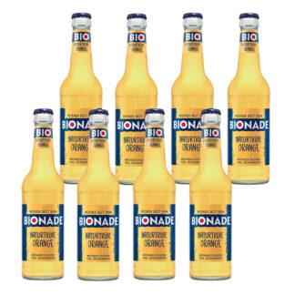 Bionade Naturtrübe-Orange 8 Flaschen je 0,33l