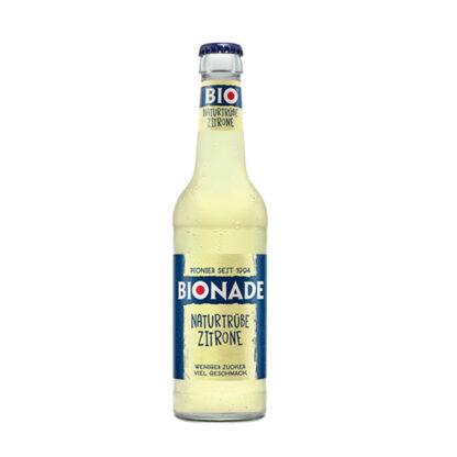 Bionade Naturtrübe-Zitrone 0,33l Flasche