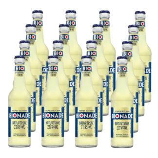 Bionade Naturtrübe-Zitrone 16 Flaschen je 0,33l