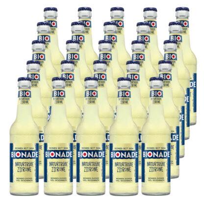 Bionade Naturtrübe-Zitrone 25 Flaschen je 0,33l