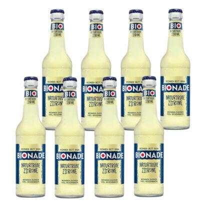 Bionade Naturtrübe-Zitrone 8 Flaschen je 0,33l