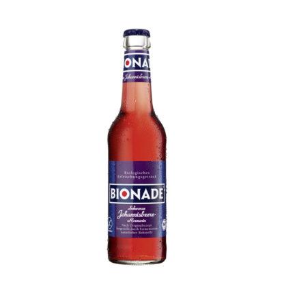 Bionade Schwarze Johannisbeere-Rosmarin 0,33l Flasche