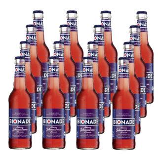 Bionade Schwarze Johannisbeere-Rosmarin 16 Flaschen je 0,33l