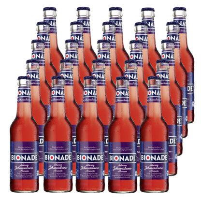 Bionade Schwarze Johannisbeere-Rosmarin 25 Flaschen je 0,33l