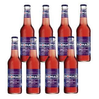 Bionade Schwarze Johannisbeere-Rosmarin 8 Flaschen je 0,33l
