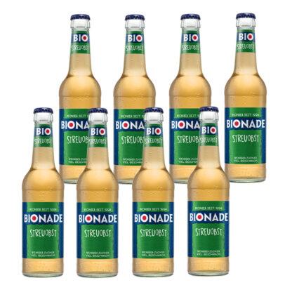 Bionade Streuobst 8 Flaschen je 0,33l
