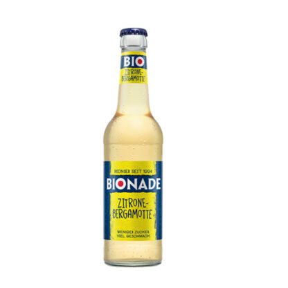 Bionade Zitrone-Bergamotte 0,33l Flasche
