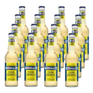 Bionade Zitrone-Bergamotte 16 Flaschen je 0,33l