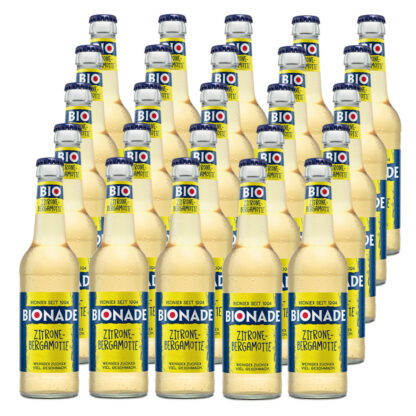 Bionade Zitrone-Bergamotte 25 Flaschen je 0,33l